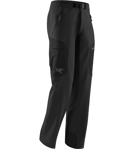 Gamma MX Pant Men's Lightly insulated, breathable soft shell pant with DWR durable water repellent treatment to resist light moisture; ideal for alpine and expedition climbing