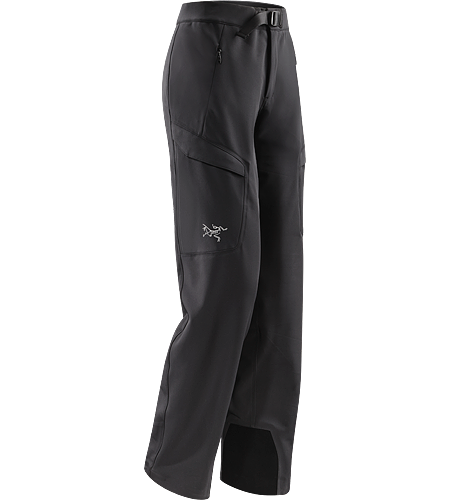 Gamma MX Pant Women's Lightly insulated, breathable soft shell pant with DWR durable water repellent treatment to resist light moisture; ideal for alpine and expedition climbing