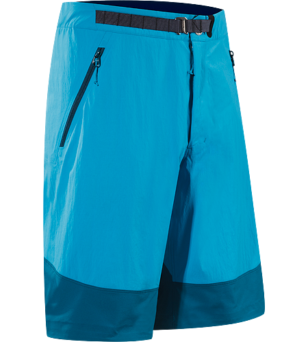 Gamma SL Hybrid Short Men's Lightweight, breathable, technical shorts constructed with stretchy, durable textile that provide enhanced abrasion resistence and mobility.