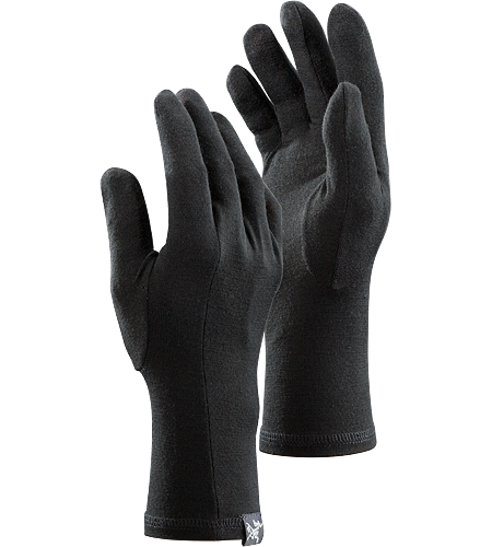 Gothic Glove Leichter Unterziehhandschuh aus Wolle fr eine Extraportion Wrme