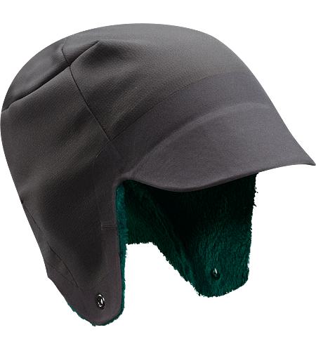 Hyllus Hat Hunter style ear flap hat in weather resistant, insulated hardfleece.