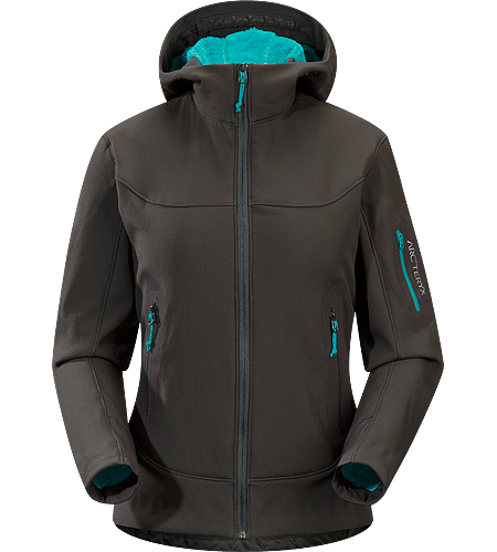 Hyllus Hoody Women's Formerly known as the Hercules Hoody. Ideal as mid-layer insulation; pill-free, highly breathable, high-loft, insulated hoody