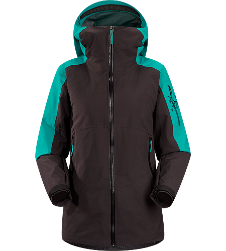 Kamoda Jacket Women's Waterproof, breathable GORE-TEX® jacket with Coreloft™ insulation; ideal for skiing/riding deep snow on cold weather days.