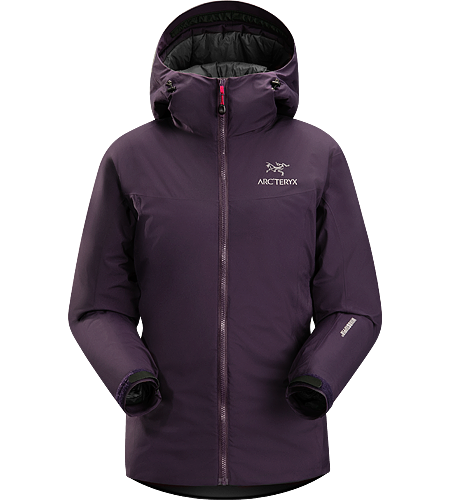 Kappa Hoody Women's Highly insulated, windproof, breathable jacket; ideal for active pursuits in freezing weather.