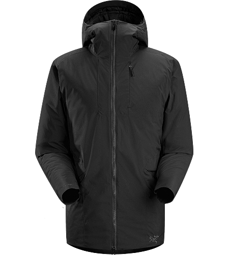 Khuno Parka Men's Newly redesigned with enhanced WINDSTOPPER fabric with a softer face and a refined fit. Long length insulated casual coat constructed with WINDSTOPPER fabric paired with Coreloft insulation. Ideal for every day, cold weather use.
