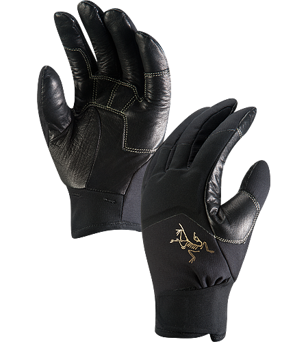 MX Gants Gants  la tenue prcise pour la dextrit par temps froid. La couche de cuir protge les phalanges des abrasions et des frictions avec la corde. Pour une utilisation en escalade mixte