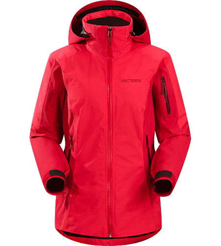Meta Jacket Women's Lightweight, waterproof, breathable, lightly insulated GORE-TEX® jacket with a slim silhouette, designed for big mountain and resort skiing