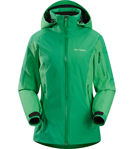 Meta Jacket Women's Lightweight, waterproof, breathable, lightly insulated GORE-TEX jacket with a slim silhouette, designed for big mountain and resort skiing
