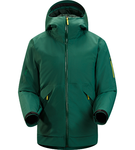Micon Jacket Men's Relaxed fitting GORE-TEX® and Coreloft™ insulated waterproof jacket, designed for big mountain adventures and on/off piste skiing and riding.