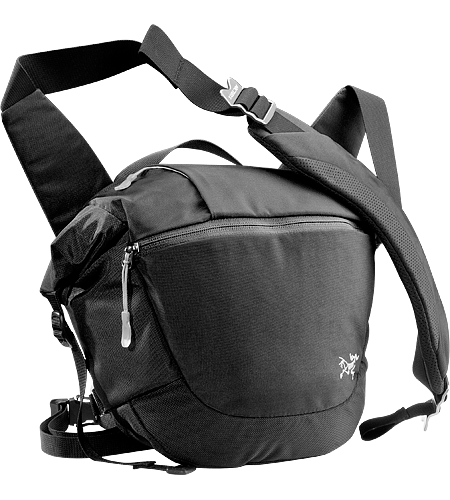 Mistral 8 Urban commuter shoulder bag with accessory pockets.