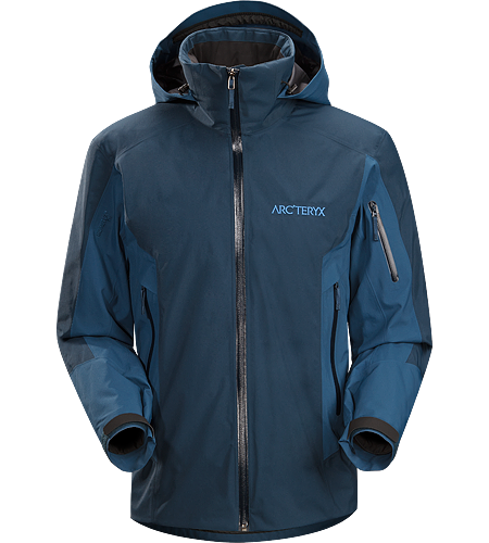 Modon Jacket Men's Relaxed fitting GORE-TEX and Coreloft insulated waterproof jacket, designed for deep powder skiing and riding