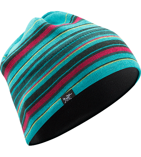 Molly & Moe Toque Merino wool/acrylic mix beanie with fleece headband lining.