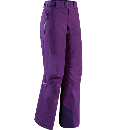Moray Pant Women's Waterproof, insulated GORE-TEX® ski pants, designed with a full snowsports feature set when paired with the Moray Jacket