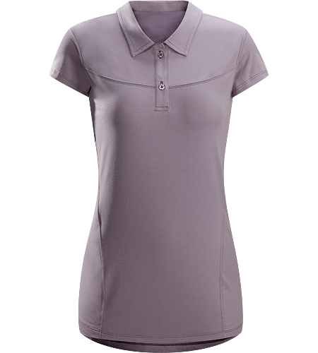 Motive Polo SS Women's Newly redesigned - Moisture-wicking polo shirt designed for indoor and outdoor activities.