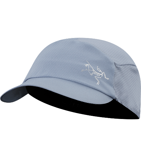 Moulin Cap Lightweight, quick drying, women's specific hat with a soft, pliable brim, designed to roll up easily so that it can be stowed away easily in a pocket or daypack