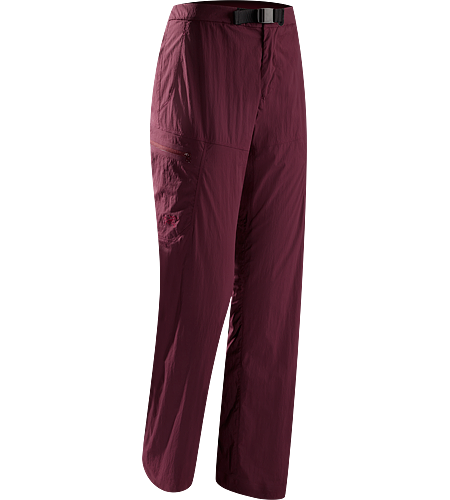 Palisade Pant Women's Redesigned for 2012 with added hand pockets. Breathable and durable pant constructed with quick-drying, comfort-stretch textiles.