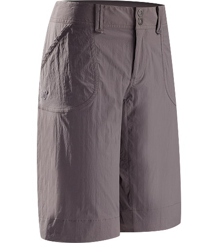 Parapet Long Women's Urban inspired technical long shorts suitable for climbing and hiking