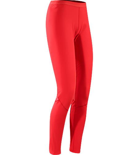 Phase AR Bottom Women's Newly redesigned with enhanced textile and composite construction. Moisture-wicking base layer bottom, constructed using odour-control fabric; Ideal as mid-level insulation during stop-and-go activities.