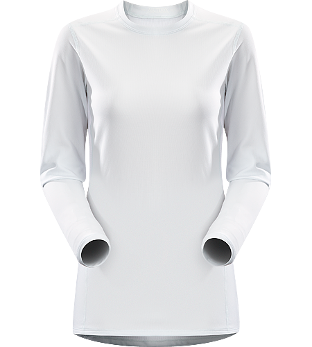 Phase AR Crew LS Women's Newly redesigned with enhanced textile and composite construction. Lightly-insulated, moisture-wicking, base layer, designed for aerobic use during cooler conditions.
