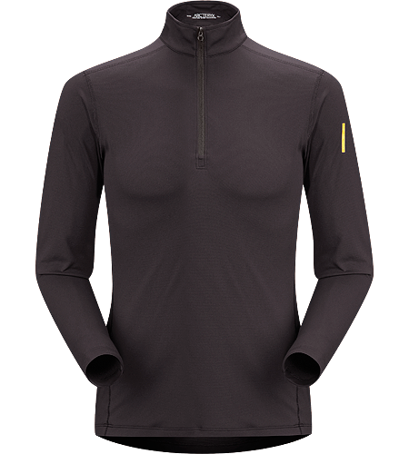 Phase AR Zip Neck LS Men's Newly redesigned with enhanced textile and composite construction. Lightly insulated, zip-neck base layer, designed for use during aerobic activities in cooler conditions.