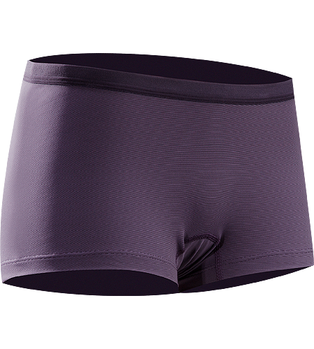 Phase SL Boxer Women's Newly redesigned with enhanced textile. Lightweight, moisture-wicking boxer brief for women