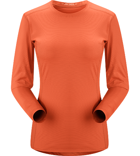 Phase SL Crew LS Women's Newly redesigned with enhanced textile. Moisture-wicking base-layer, constructed using odour-control fabric; Ideal as lightweight insulation layer during aerobic activities