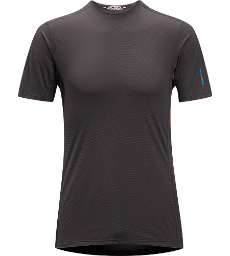 Phase SL Crew SS Men's Newly redesigned with enhanced textile. Moisture-wicking base-layer, constructed using odour-control fabric; Ideal as lightweight insulation layer during aerobic activities.