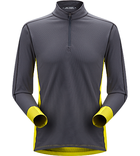 Phase SV Comp LS Men's Newly redesigned with enhanced textile. Breathable, quick drying, long sleeved base layer top constructed using two weights of performance Phasic™ fabrics that disperse moisture quickly to increase comfort during high-output activity.