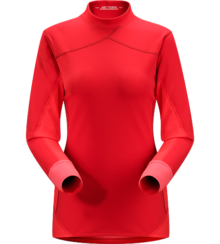 Phase SV Comp LS Women's Newly redesigned with enhanced textile. Breathable, quick drying, long sleeved top constructed using two weights of performance Phasic™ fabrics that disperse moisture quickly to increase comfort during high-output activity.