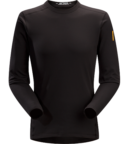 Phase SV Crew LS Men's Newly redesigned with enhanced textile and composite construction. Moisture-wicking base-layer, constructed using odour-control fabric; Ideal as mid-level insulation during aerobic activities