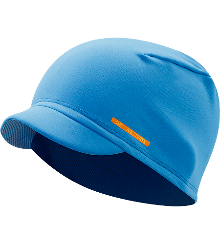 Phase SV Toque Easily packable hat with a pliable, laminated brim and constructed using Phase SV textile for moisture-wicking comfort.