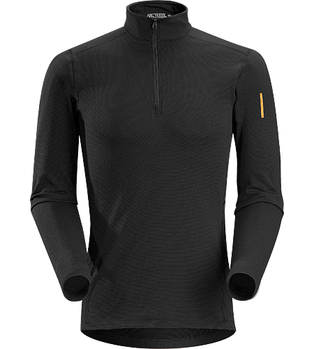 Phase SV Zip Neck LS Men's Newly redesigned with enhanced textile and composite construction. Moisture-wicking base layer zip neck top, constructed using odour-control fabric; Ideal as mid-level insulation during stop-and-go activities.