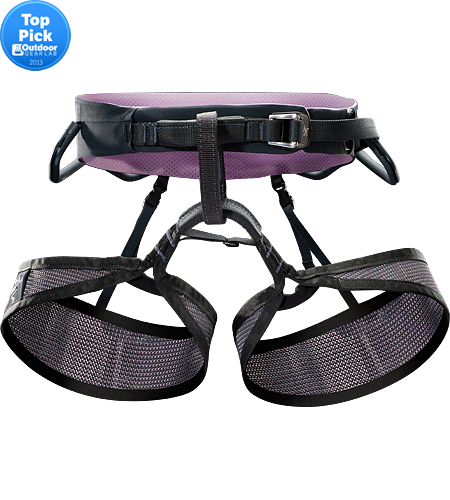 R·260 LT Women's Women's specific rock climbing harness. Lightweight, breathable rock climbing harness constructed using Warp Strength Technology® and Vapor mesh for added climbing comfort in warm weather