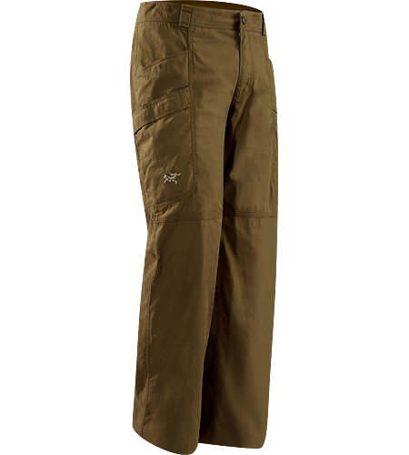 Raider Pant Men's Newly redesigned for 2012 with lighter textiles and revised pocket configuration. Durable Cotton/Canvas, urban-styled pant designed with articulated patterning