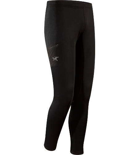 Rho AR Bottom Men's Newly redesigned with a revised fit. Versatile, insulated tight that can be worn as an insulated base layer, or as a stand-alone outer layer during cool-weather workouts