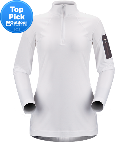Rho LT Zip Neck Women's Newly redesigned with enhanced textile and a revised fit. Lightweight, moisture-wicking base layer shirt with odour-control fabric.