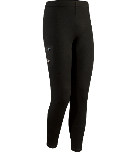 Rho LTW Bottom Men's Lange Funktionsunterhose aus MAPP-Merinowolle
