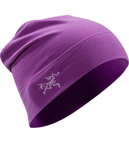 Rho LTW Long Toque Lightweight, longer length Wool/Spandex mix toque with embroidered bird logo