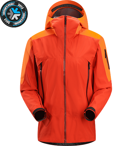 Sabre Jacket Men's Newly redesigned with enhanced GORE-TEX® Pro fabric with a softer face and Slide 'n Loc snap system. Waterproof and windproof GORE-TEX® jacket, designed for on-area riding and skiing