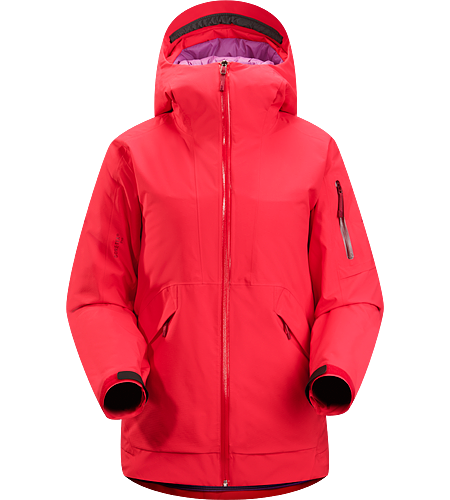 Sarissa Jacket Women's Waterproof, breathable GORE-TEX jacket with Coreloft insulation; ideal for skiing/riding deep snow on cold weather days.