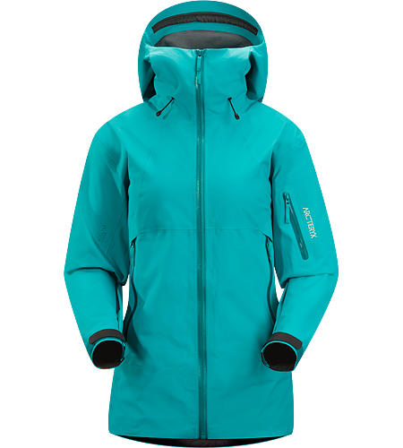Scimitar Jacket Women's Waterproof, breathable GORE-TEX jacket, designed with snowsport-specific features for big mountain adventures both on and off piste.