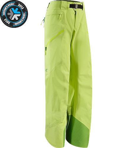 Sentinel Pant Women's Newly redesigned with a Slide n' Loc™ snap system. Waterproof, women-specific GORE-TEX® pants, designed for riders/skiers.