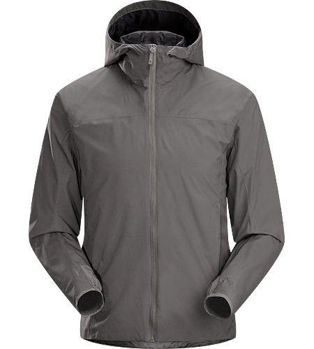 Solano Jacket Men's Newly redesigned with adjustable hood and additional length. A lightweight and breathable, lined WINDSTOPPER® hooded jacket with articulated patterning for active use.