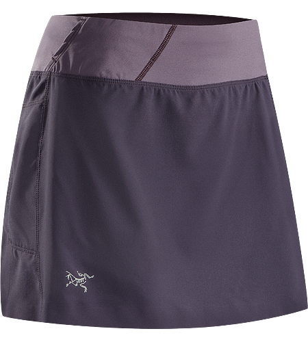 Solita Skort Women's Lightweight, versatile skort (skirt/short combination) with an inner boxer-length mesh liner and stretch-woven waistband to enhance comfort and freedom of movement.
