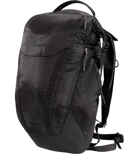 Spear 25 RollTop™ opening daypack; designed for use either in an urban environment, or light trail usage.