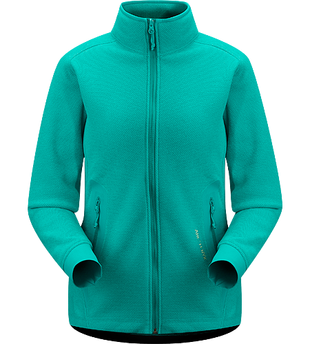Strato Jacket Women's Moisture-wicking, breathable, mid-layer fleece jacket designed for snowsport activities