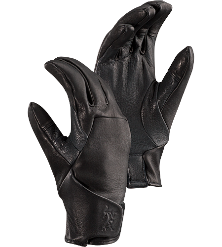Tactician AR Glove Men's Windproof, lightweight leather glove with a soft lining and Velcro wrist closure for a comfortable, snug fit.