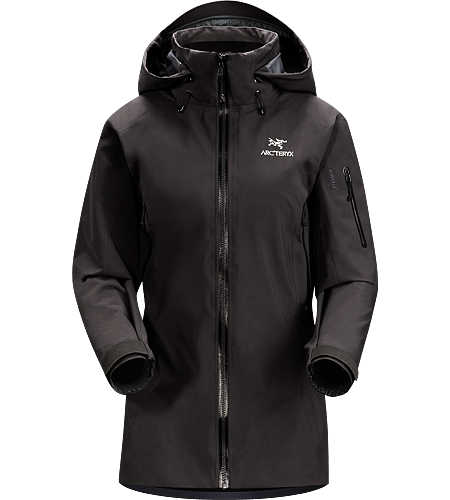 Theta AR Jacket Women's Lightweight and versatile GORE-TEX® jacket, features a tall collar with a Drop Hood™.