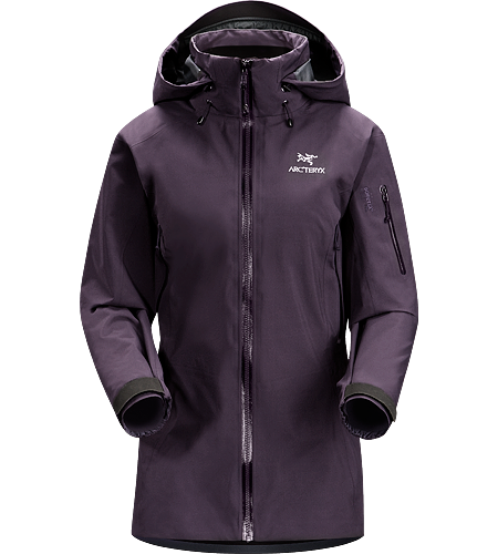 Theta AR Jacket Women's Lightweight and versatile GORE-TEX jacket, features a tall collar with a Drop Hood.