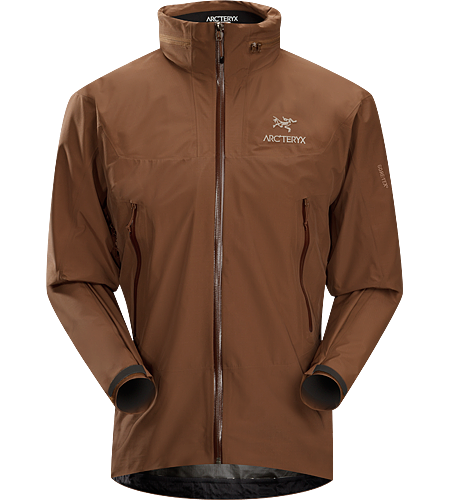 Theta SL Hybrid Jacket Men's Lightweight, packable, waterproof GORE-TEX jacket, designed for emergency storm-protection in inclement weather.